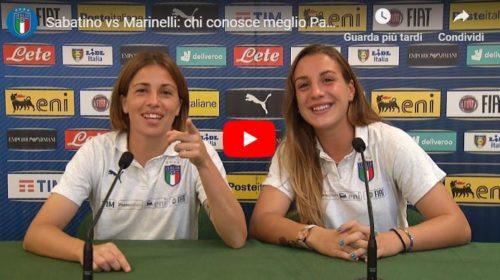 Nazionale, le Azzurre si sfidano in un quiz: chi conosce meglio Palermo? 🎥 VIDEO