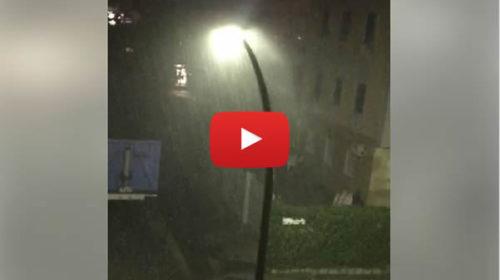 Temporale e nubifragio su Palermo: ecco le immagini da Borgo Nuovo 🎥 VIDEO