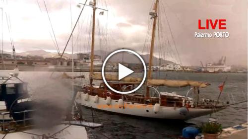 Risveglio autunnale a Palermo: temperature in calo e acquazzoni in città: le immagini IN DIRETTA 📹