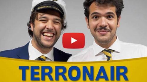 """Biglietti aerei troppo cari? """"TERRONAIR"""" La soluzione de 'I Sansoni' 🤣 VIDEO"""