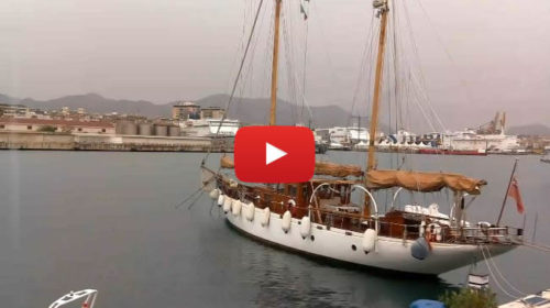 La tempesta si avvicina, primi rovesci su Palermo: le immagini IN DIRETTA 🎥