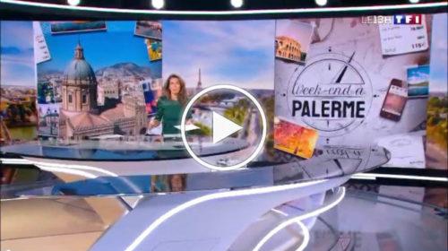"Fra bellezze uniche e street food: Palermo protagonista di un approfondimento del ""TG1 francese"" | VIDEO 📺"