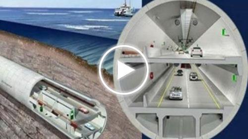 Un tunnel sottoterraneo e sottomarino da 1,2 miliardi per attraversare Palermo, presentato il progetto | VIDEO 📹