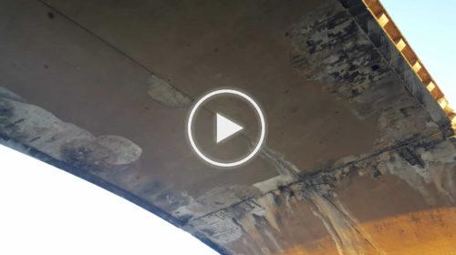 Cadono calcinacci dal ponte Oreto, palermitani allarmati dalle condizioni della struttura   VIDEO 📹