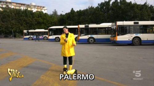 """Palermo, """"Striscia La Notizia"""" a caccia dei cittadini senza biglietto sui mezzi pubblici 📺 VIDEO"""