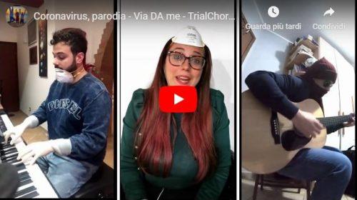 """""""N'ama stari cà"""" La parodia musicale di tre giovani palermitani ai tempi del Coronavirus 📹 VIDEO"""