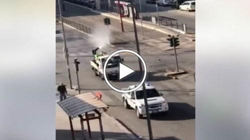 Coronavirus, disinfestazione nei quartieri di Palermo: applausi dai balconi 📹 VIDEO