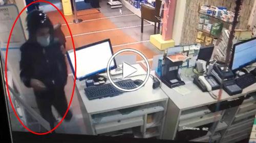 Palermo, tenta la rapina ma il farmacista lo mette in fuga con un pugno al volto | VIDEO 📹