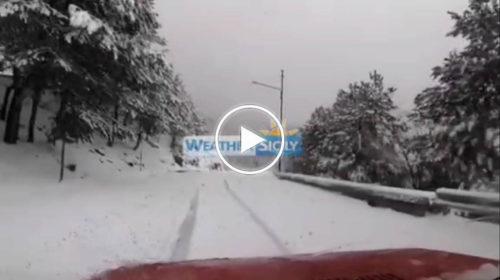 Situazione Live – Nevica nel palermitano: questo lo scenario nelle Madonie | VIDEO 📹