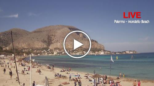 A Palermo sembra già estate: le immagini IN DIRETTA da Mondello 📹 VIDEO