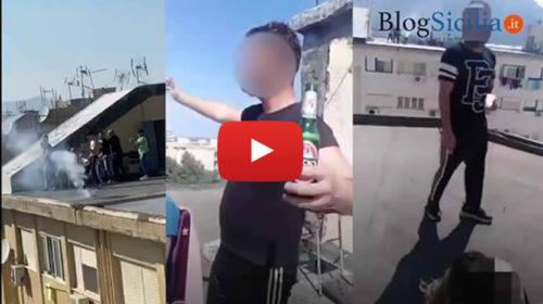 Coronavirus, film di una Pasqua di follia sui tetti dello Sperone a Palermo | VIDEO 📹