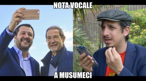 Roberto Lipari – Nota vocale al presidente Musumeci 📹 VIDEO
