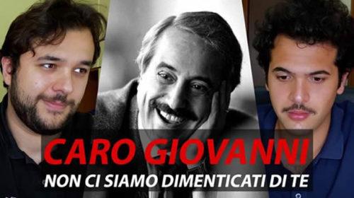"""I SANSONI, lettera a Giovanni Falcone: """"Non ci siamo dimenticati di te…""""   VIDEO 📹"""