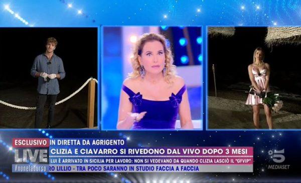 """Paolo Ciavarro e Clizia Incorvaia sbugiardati in diretta da Barbara D'Urso: """"Sceneggiata, vi siete già visti"""" 📹 VIDEO"""