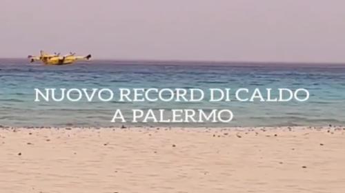 NUOVO RECORD DI CALDO per il mese di maggio a Palermo, raggiunta una temperatura massima di +40.3°C 📹 VIDEO