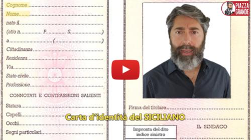 Cosa è l'identità siciliana? Stefano Piazza lo chiede ai palermitani 📹 VIDEO