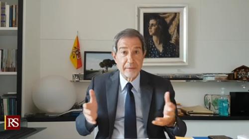"""Minacce social al Presidente della Regione, """"saranno identificati e denunciati"""" annuncia Musumeci (VIDEO)"""