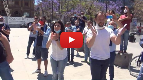 Fase 2 amara per le sale bingo, scatta la protesta dei lavoratori 📹 VIDEO