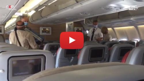 Coronavirus, Roma-Palermo: si vola sul jet intercontinentale per evitare affollamenti | IL VIDEO 📹