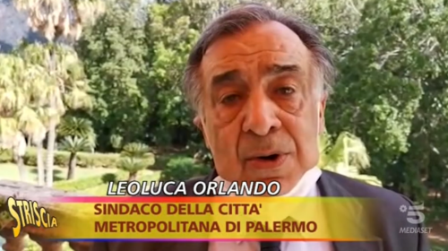 Palermo, mascherine abbandonate in giro: la promessa di Orlando a Striscia la Notizia 📺 VIDEO