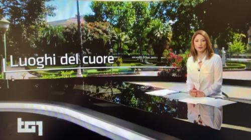 """Il Giardino Inglese di Palermo nei """"Luoghi del Cuore"""", ecco il servizio del Tg1 📺 VIDEO"""