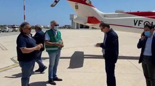 Stato d'emergenza per gli sbarchi a Lampedusa, lo chiede il Presidente Musumeci in visita sull'isola (FOTO E VIDEO)