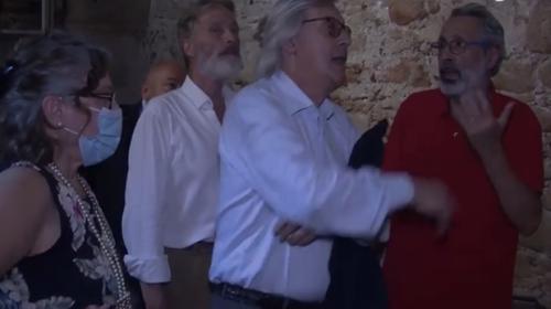 Rinasce allo Spasimo con RestArt l'altare del Gagini con la ricostruzione della tela di Raffaello (FOTO E VIDEO)