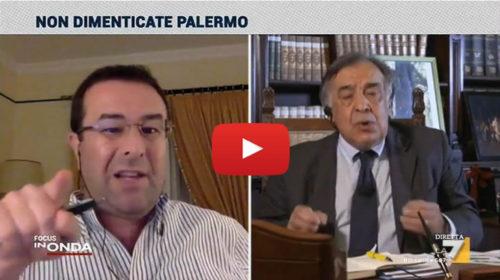 Nubifragio Palermo, acceso confronto in diretta TV tra il Sindaco Orlando e il leghista Candiani | VIDEO 📺