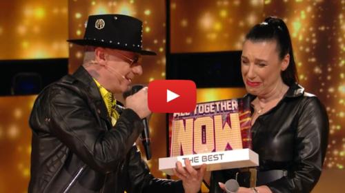 La palermitana Daria Biancardi trionfa nella puntata speciale di All Together Now 'La Supersfida' 📺 VIDEO