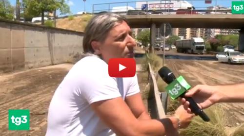 Palermo, il racconto di un uomo che è riuscito a salvare l'intera famiglia e tante altre persone dall'inferno d'acqua 📺 VIDEO