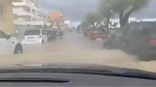 Maltempo Sicilia, Pioggia abbondante e allagamenti sul messinese   IL VIDEO 📹