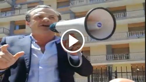 """Il Sindaco di Messina De Luca a Palermo: """"Sui diritti non si tratta!"""" 📹 VIDEO"""