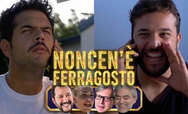 """I Sansoni: """"Non ce n'è Ferragosto"""". La satira del duo comico palermitano 🤣 VIDEO"""