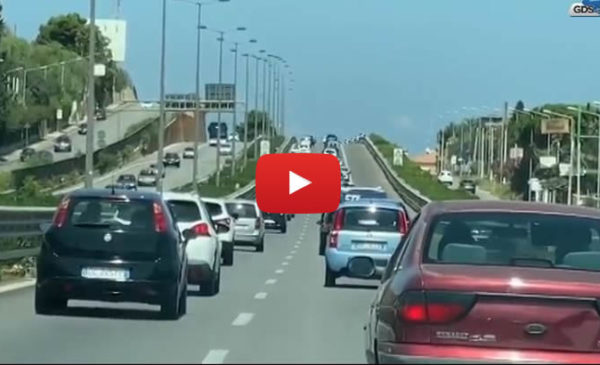 Palermo, domenica da bollino nero: code e traffico sulle autostrade | VIDEO 📹