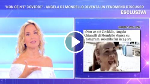 """Angela da Mondello è stato il fenomeno virale dell'estate 2020, Barbara D'Urso esulta: """"E' partito tutto da un mio programma"""" 📹 VIDEO"""