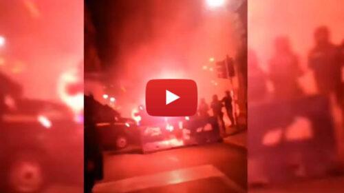 VIDEO   Protesta finita in violenza a Palermo: feriti un operatore Mediaset ed un agente 📹