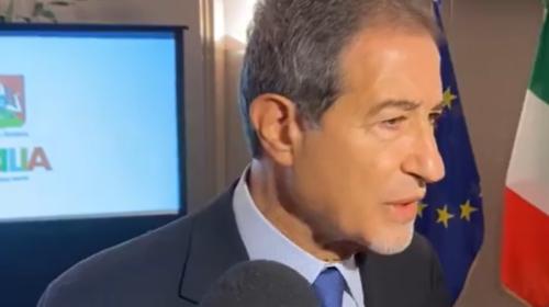Palermo, parte domani il Giro d'Italia: il presidente Nello Musumeci presenta le quattro tappe siciliane 📹 VIDEO