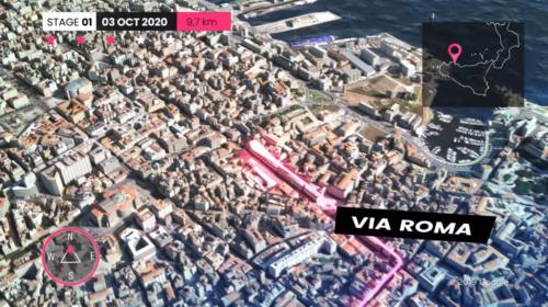 Sta per partire il Giro d'Italia 2020, a Palermo la prima Maglia Rosa: ecco il tracciato 📹 VIDEO