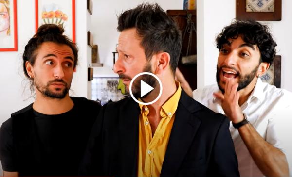 """Togli un posto a tavola"" PARODIA palermitana 😂 VIDEO"