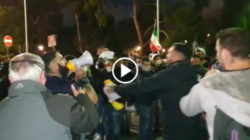 Nuova protesta a Palermo contro il Dpcm in piazza Indipendenza – VIDEO DIRETTA