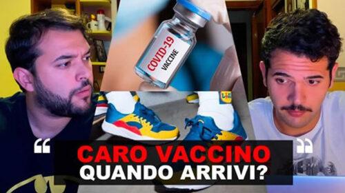 "I Sansoni – ""CARO VACCINO… quando arrivi?"" | VIDEO"