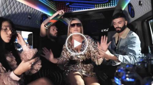 """Angela da Mondello entra nel mondo discografico e lancia la canzone: """"Non c'è n'è""""   IL VIDEOCLIP UFFICIALE"""