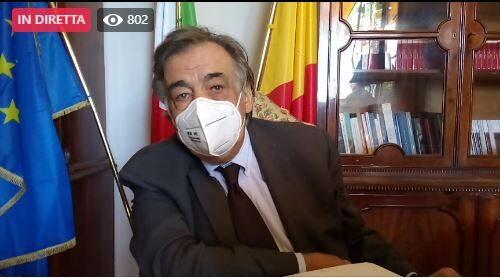 Importanti novità sui provvedimenti per contrastare il Covid a Palermo: la conferenza stampa di Orlando   VIDEO DIRETTA