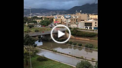 Palermo, ecco come si presenta Viale Regione dopo le piogge di queste ore   VIDEO