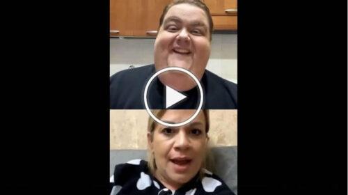 Trash in diretta sui social, Angela da Mondello intervistata da Francesco Nozzolino   VIDEO