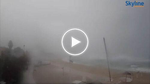 Situazione Live: nubifragio lampo colpisce Mondello, le immagini – VIDEO