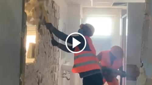 """Covid 19: ampliamento terapie intensive, al via i lavori al """"Cervello"""" di Palermo – VIDEO"""