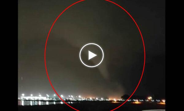 Le immagini del tornado che ha colpito Catania – VIDEO