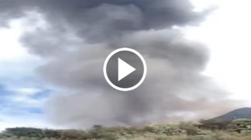 Esplosione Stromboli, nube nera sull'isola: la testimonianza VIDEO di una abitante