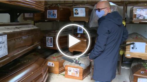 Il cimitero degli orrori e la dignità calpestata dei morti – VIDEO